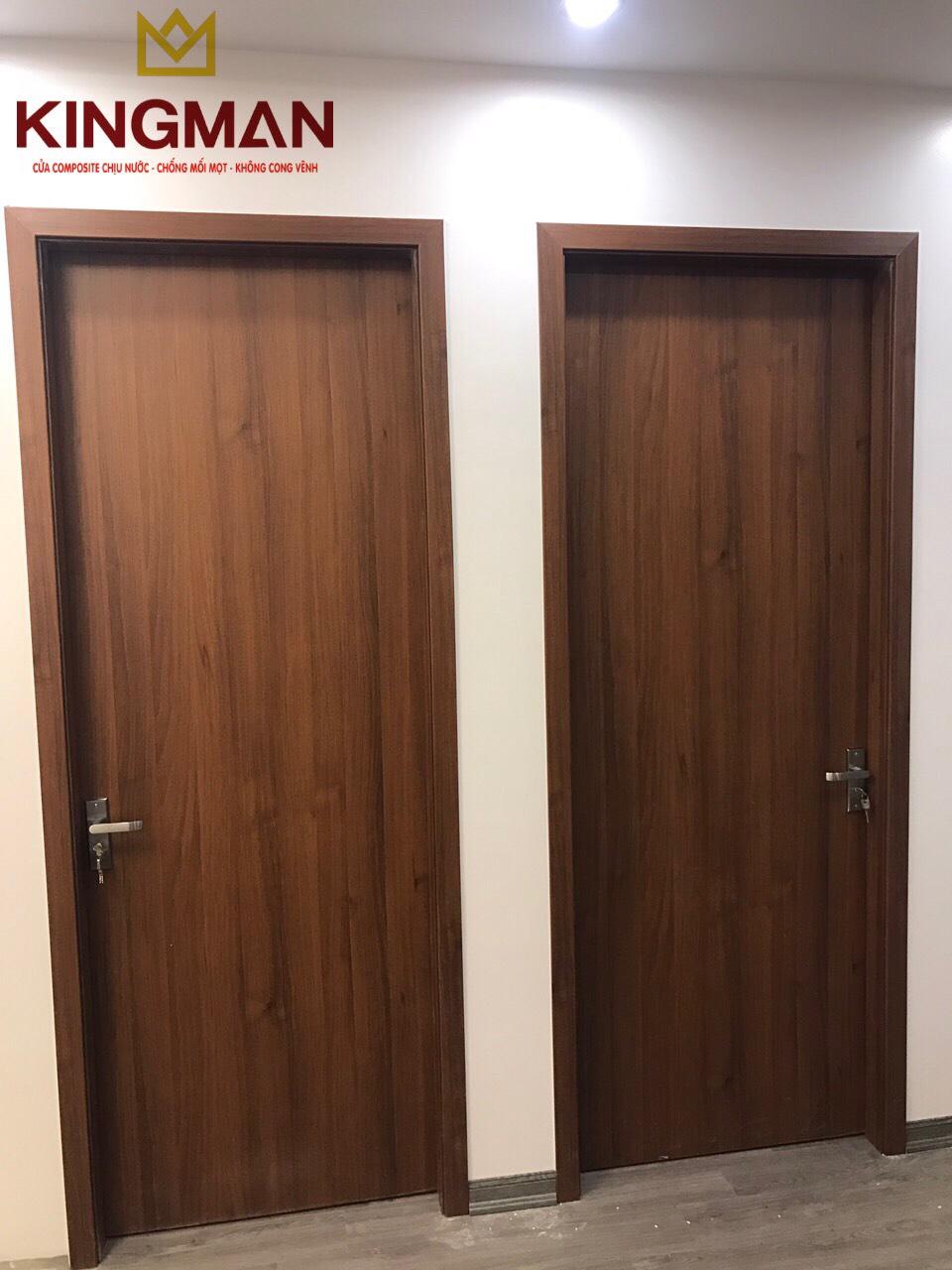 Cửa thông phòng kiểu phẳng KM-17