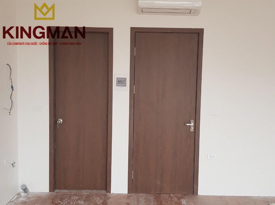Cửa PVC Phẳng màu KM-33 (New)
