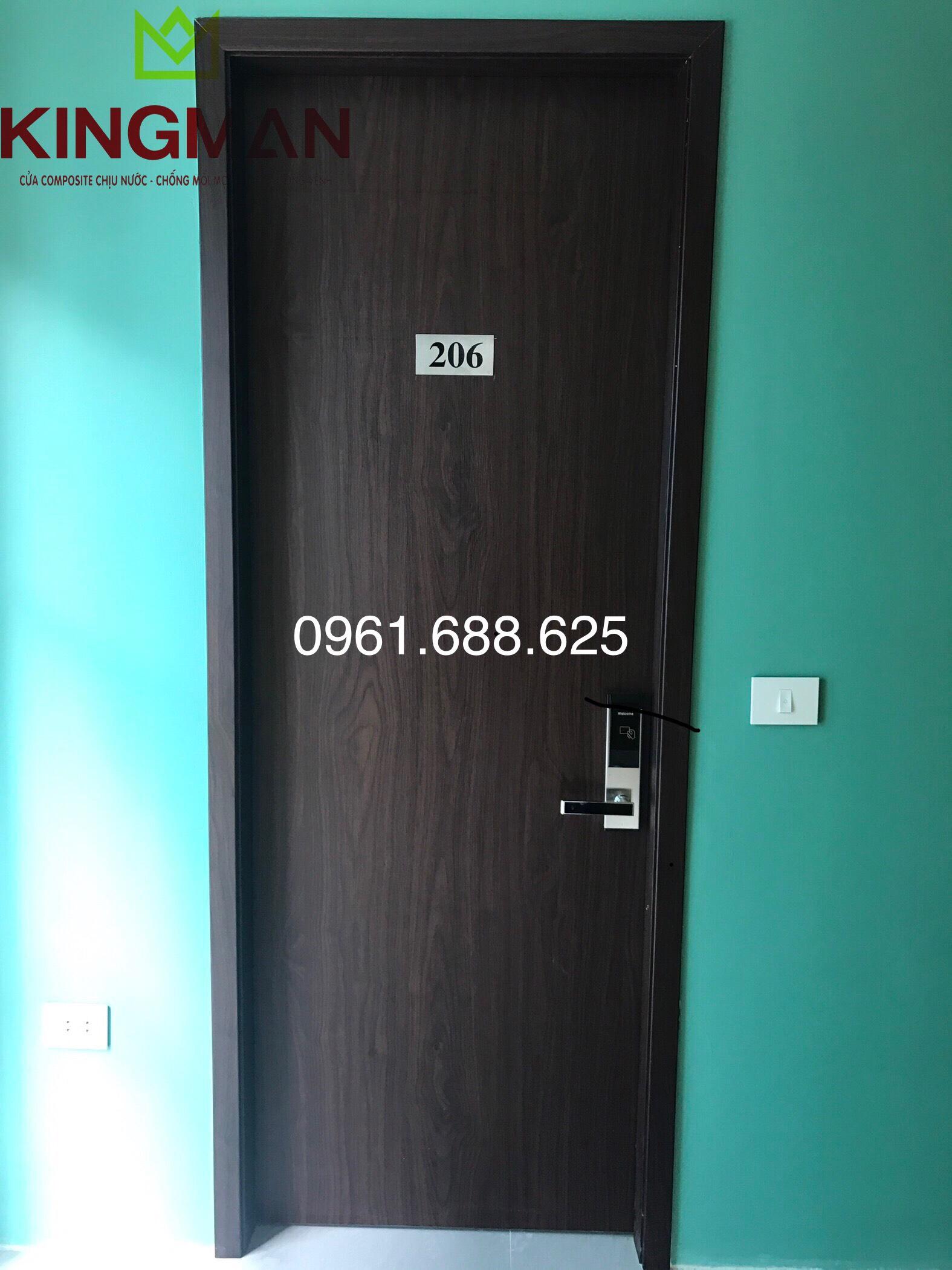 Cửa thông phòng kiểu phẳng màu KM-29